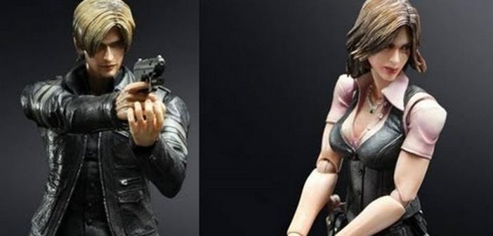 Deux figurines Play Arts pour Resident Evil 6 !