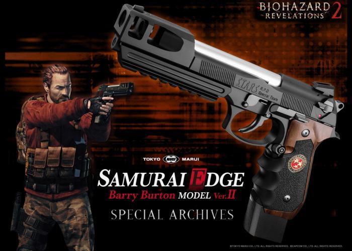 Resident Evil Revelations 2 : Samourai Edge Barry Burton Modèle Version 2