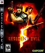Resident Evil 5 cover art
