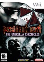 Resident Evil The Umbrella Chronicles cover art