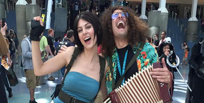 Julia Voth en cosplay a une convention Américaine !
