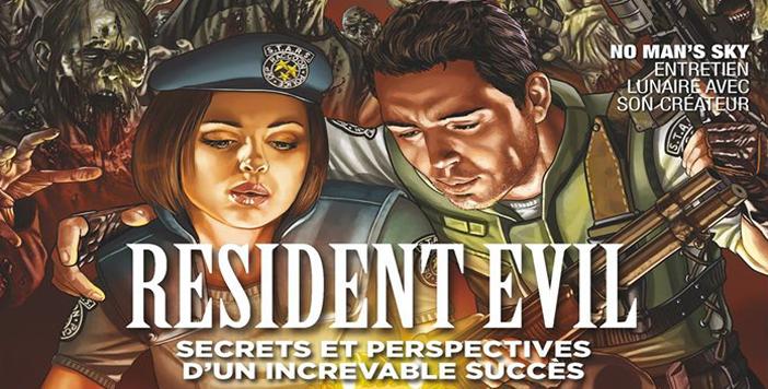 Dossier Spécial 20 ans de Resident Evil dans le magazine «The Game»
