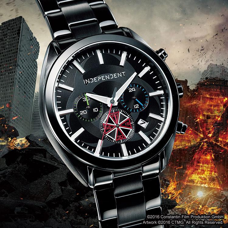 Sortie d'une montre à l'occasion du film Resident Evil : Chapitre Final