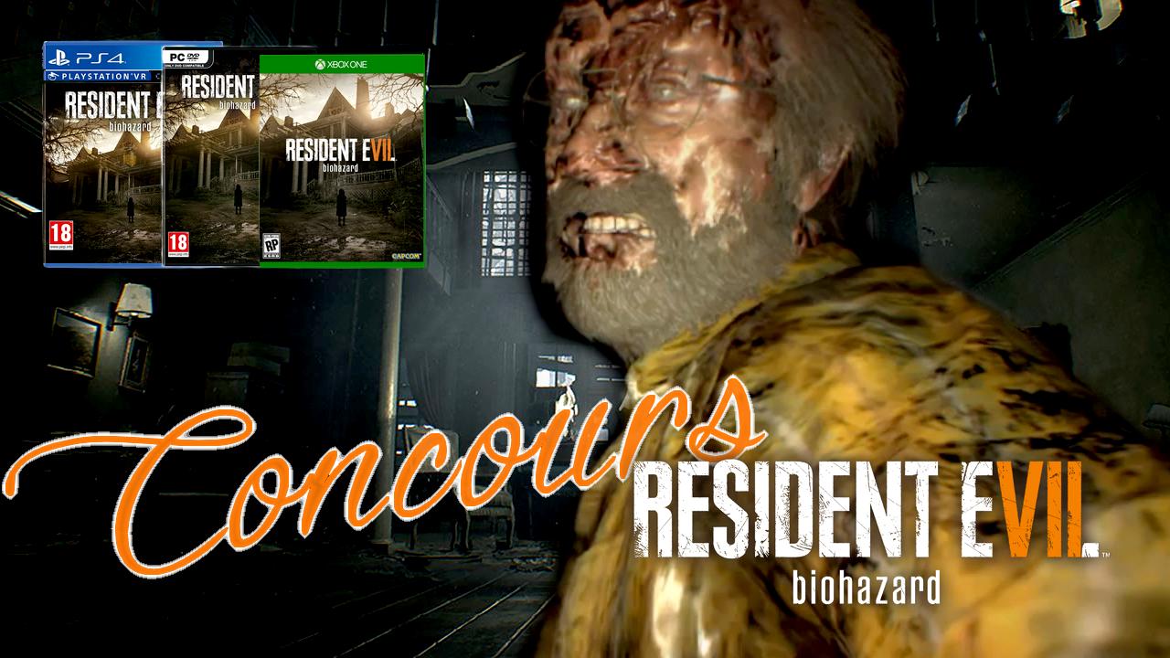 Tentez vous aussi de gagner Resident Evil 7