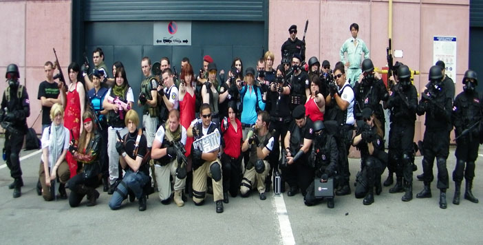 Rassemblement Resident Evil Japan Expo 2017