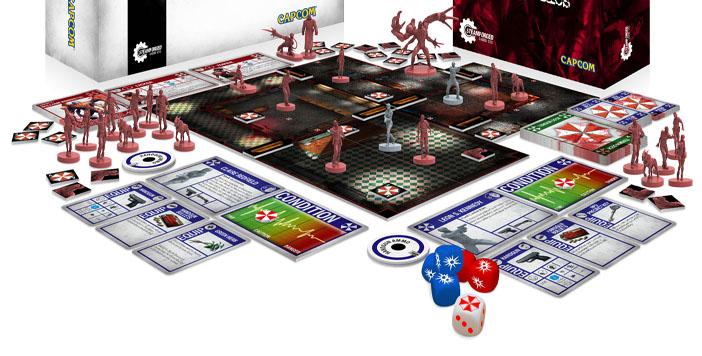 Déjà 300 000£ pour le Kickstarter du jeu de société Resident Evil 2, avec des surprises !