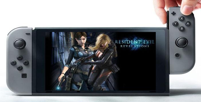 Resident Evil Revelations sur Switch: les jaquettes dévoilées !