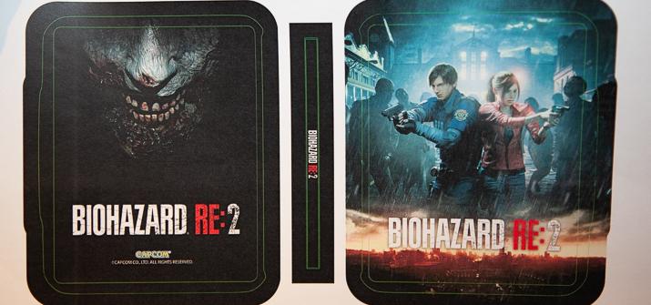 Le Steelbook de Resident Evil 2 Remake se dévoile