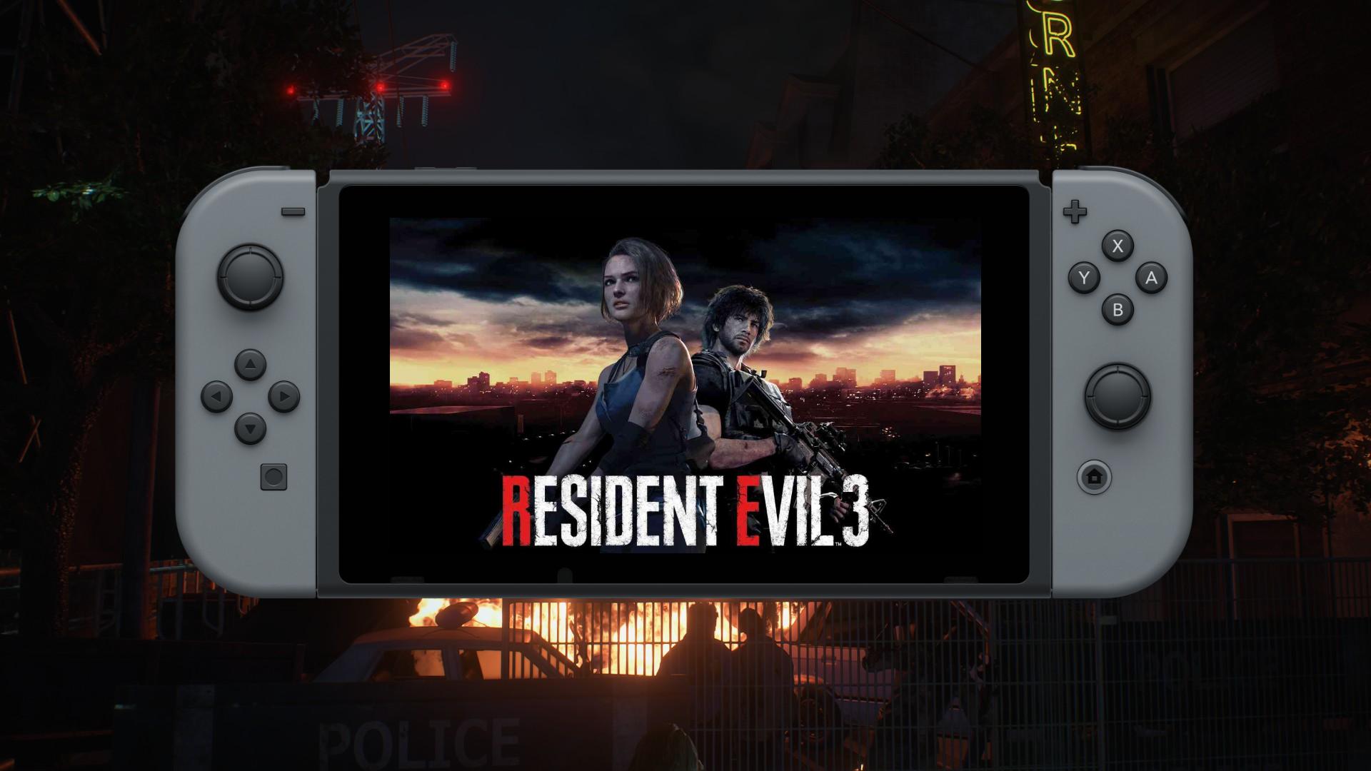 Le remake de Resident Evil 3 bientôt sur Nintendo Switch?
