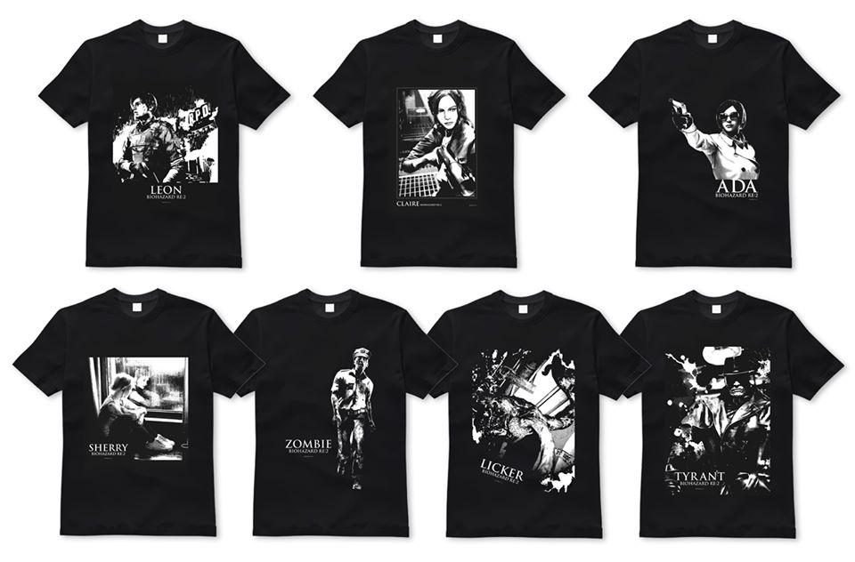 18 nouveaux T-shirts pour le Japon !