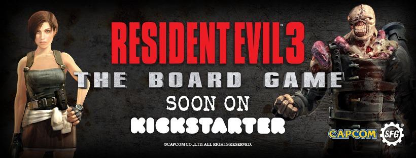 Un jeu de plateau Resident Evil 3 bientôt sur Kickstarter