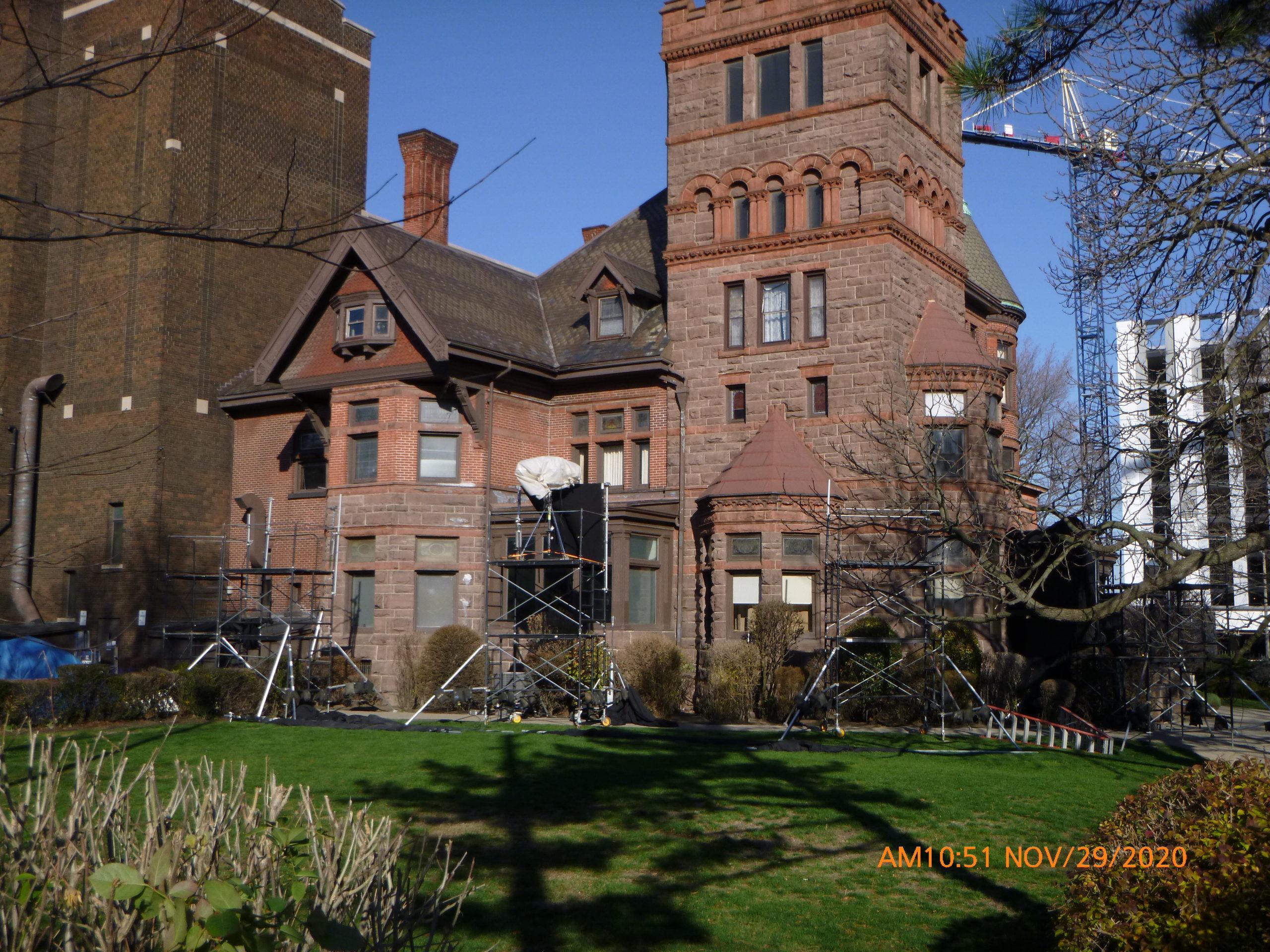 Le Manoir Spencer s'établit à Hamilton pour le tournage de Resident Evil Reboot