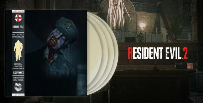 Des Vinyles de Resident Evil 2 Remake